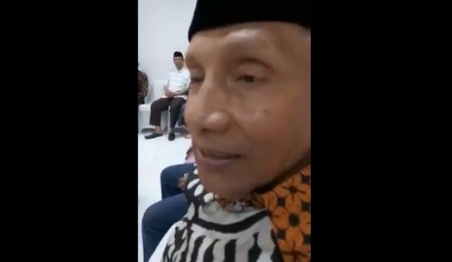 Wow ! Beredar Pernyataan Amin Rais Sebut Pencalonan Anaknya Dengan JR Berita Palsu