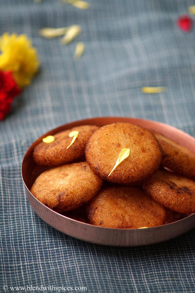 how to make semolina appalu, andhra appalu recipe, navaratri prasadam recipes