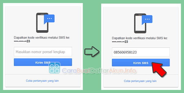 ganti password gmail di android