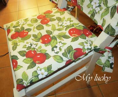 Come Cucire Cuscini Per Sedie Da Cucina.೫ My Lucky ೫ Ii Step Cuscini Per Le Sedie