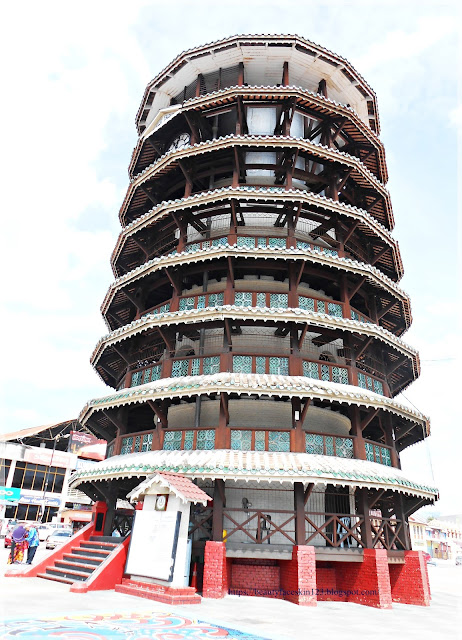 Leaning tower Teluk Intan