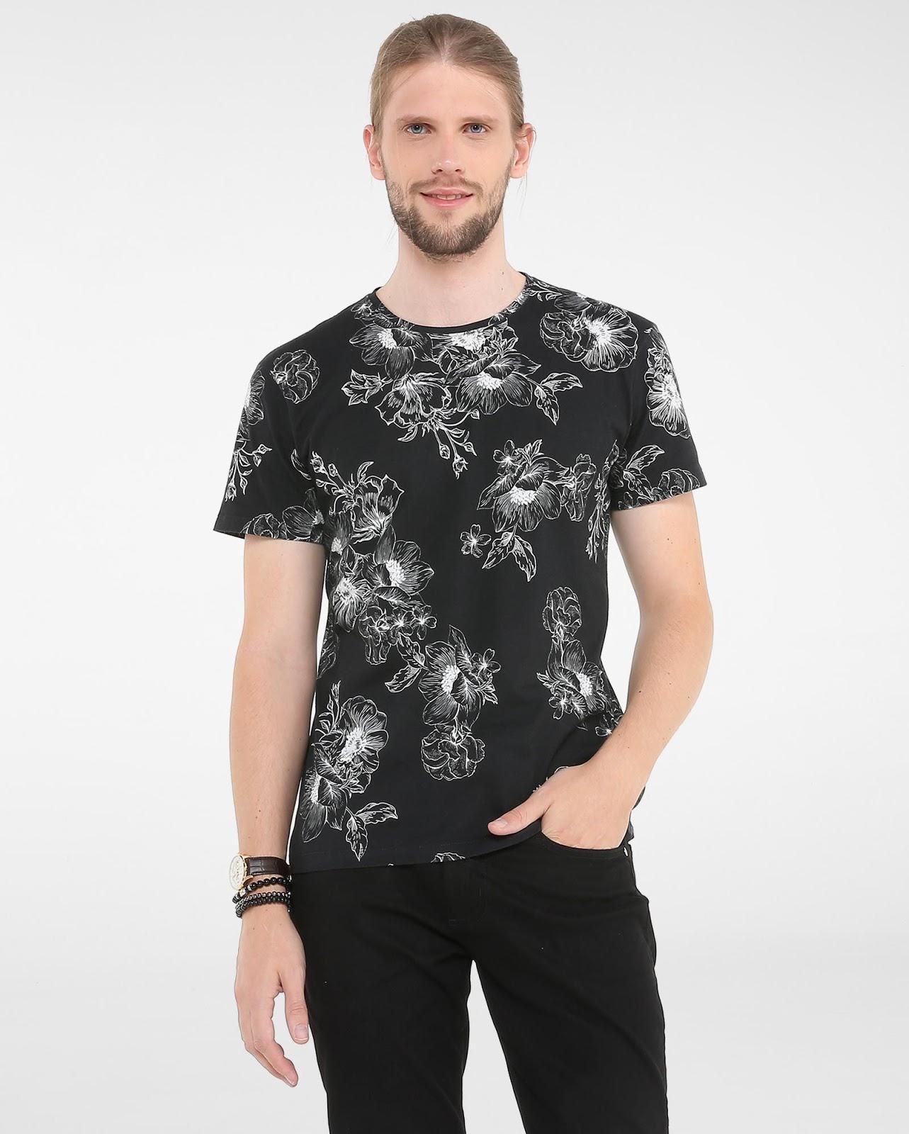 LEO KLEIN - KADU DANTAS PARA RIACHUELO - Camiseta Floral