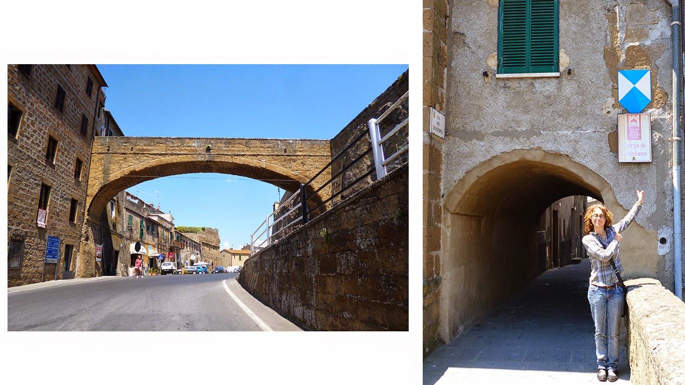 Pitigliano Toscana chegada - Pitigliano, cultura e vinho na Toscana da Maremma!