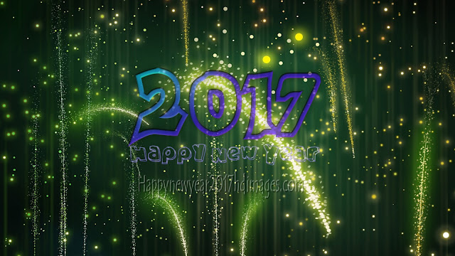 Happy New Year 2017 Full HD Sparkling Photos