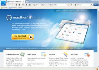 maxthon 3 2012
