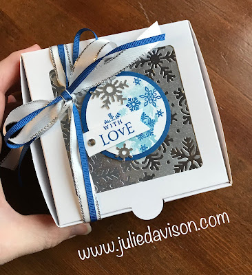 Stampin' Up! Beautiful Blizzard Card ~ Christmas ~ 2018 Holiday Catalog ~ Control Freaks Blog Tour ~ www.juliedavison.com