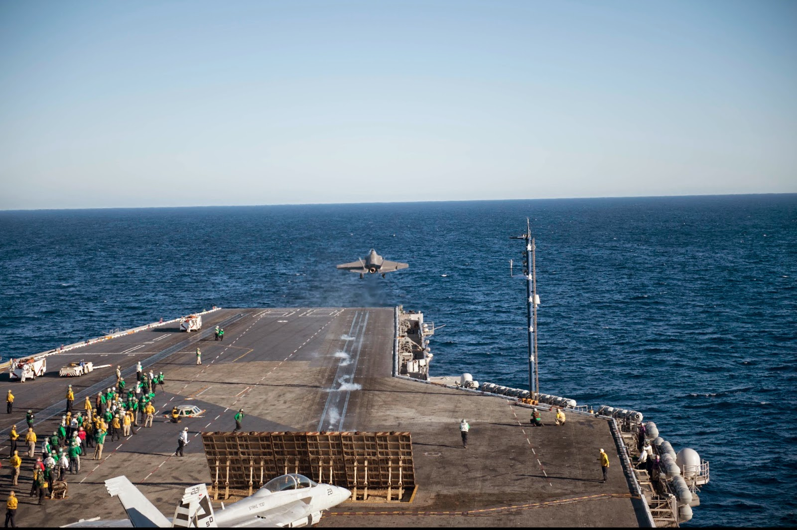 F-35 Jsf carrier takeoff