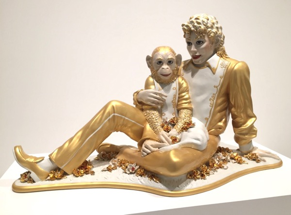 Jeff Koons Michael Jackson Bubbles Broad