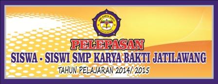 Desain Banner LDKS dan Perpisahan Sekolah cdr