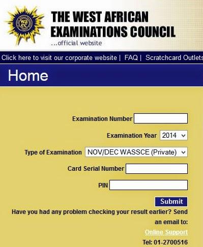 WAEC Ghana Result Checker 2017   www.ghana:waecdirect.org   Check WAEC Result