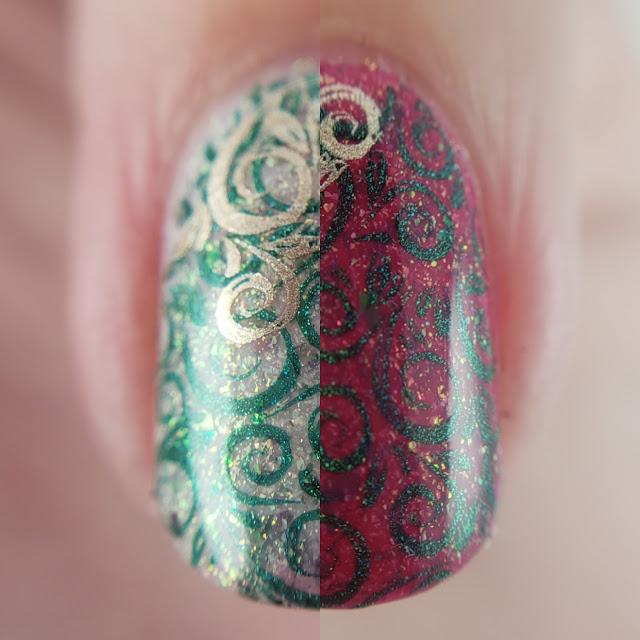 wikkid, nailstuffca, nailstuff, indie polish, indie lacquer, superchic, clearjellystamper