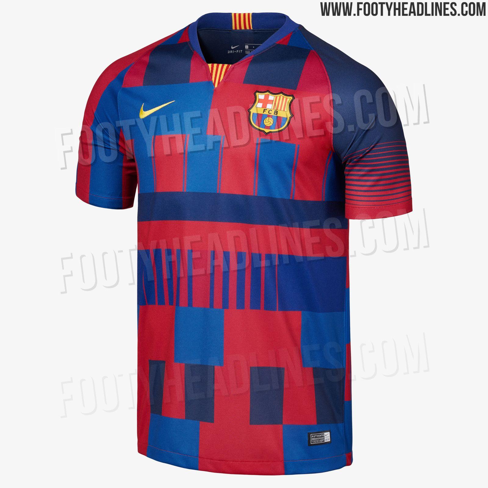 477c367989 Nike celebra los 20 años junto al FC Barcelona con esta espectacular ...