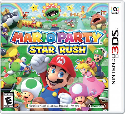 Mario Party Star Rush Decrypted 3DS USA