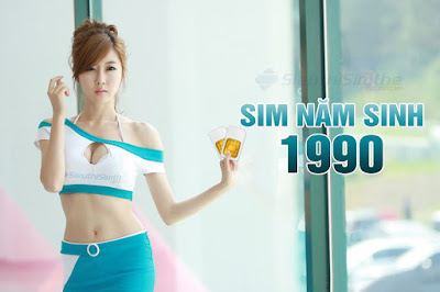 Sim năm sinh 1990