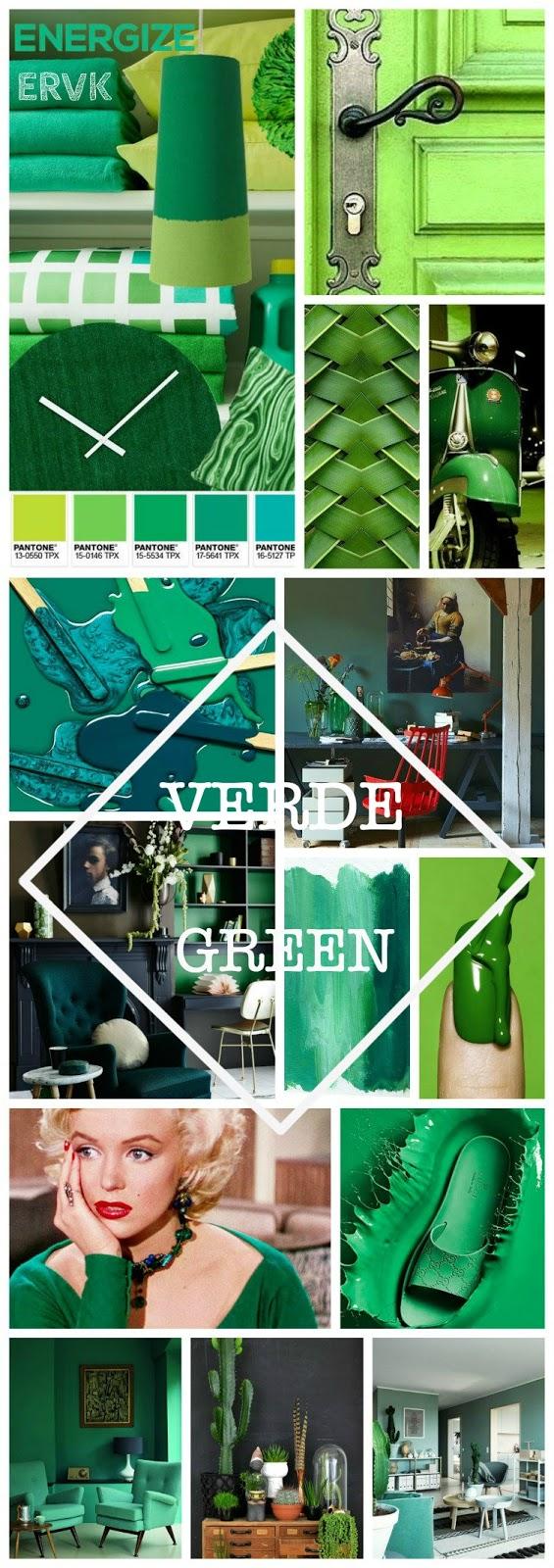 el rincón vintage de karmela color verde