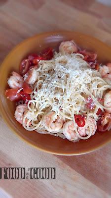 Spaghetti cu creveți