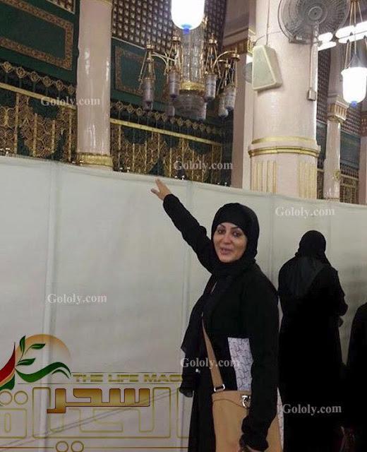 وفاء عامر بعد انتهاء تصوير نسر الصعيد توجهت للسعودية لأداء العمرة