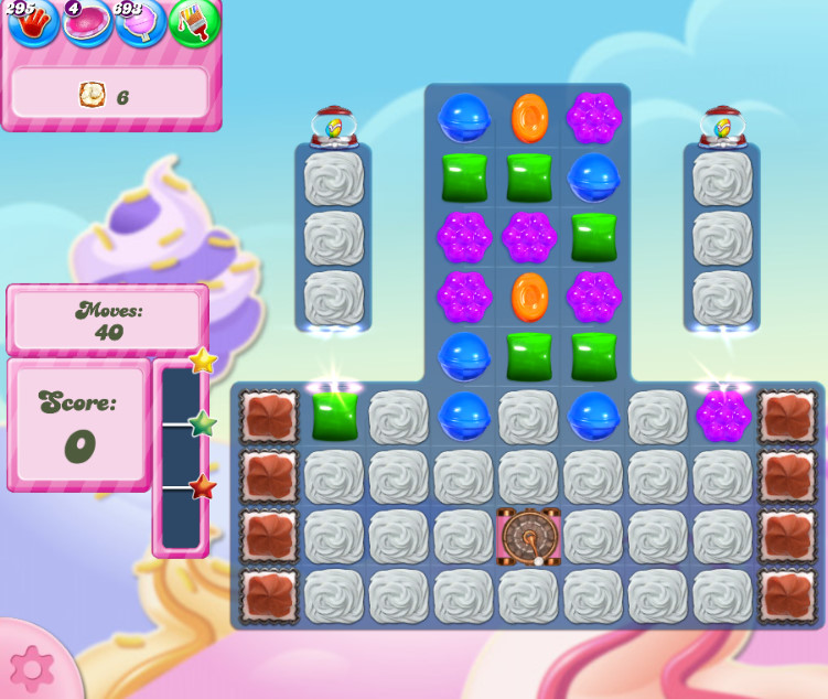 Candy Crush Saga level 2828