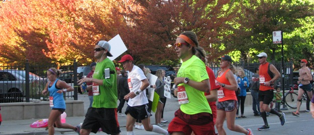 Chicago Marathon runners, Chicago, Illinois
