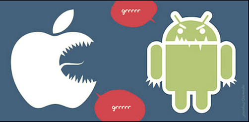Android vs  iOS: The big bad wolf is not always who you think