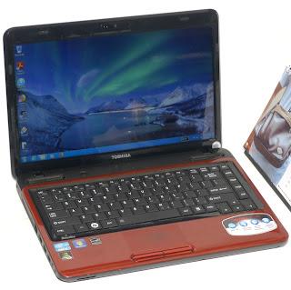 Laptop Gaming Toshiba Satellite L745 Second di Malang