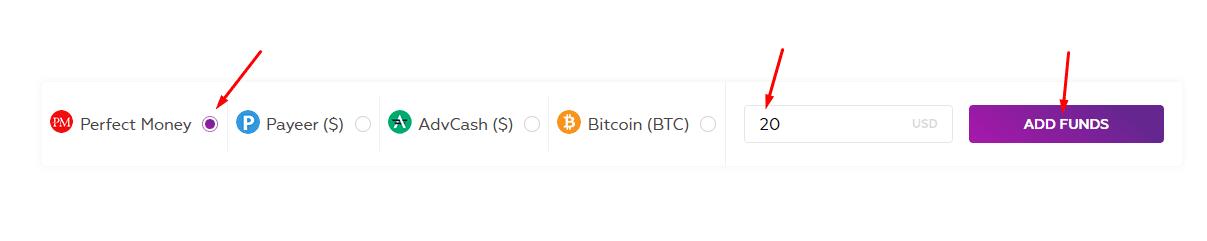 Регистрация в Bitounity 4