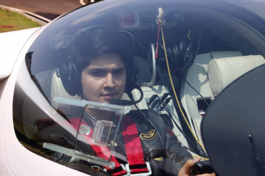 Actor Rohan Mehra is Flying High Pics