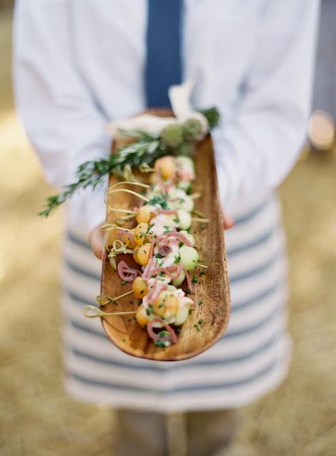 Elegir el catering o restauración de la boda - Foto: www.stylemepretty.com