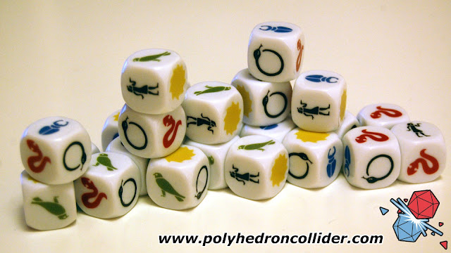 Ominoes dice - lots of them