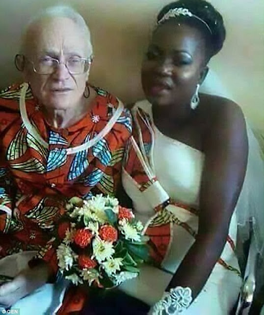 29-year-Old African Girl Marries Wealthy 98-year-Old Businessman