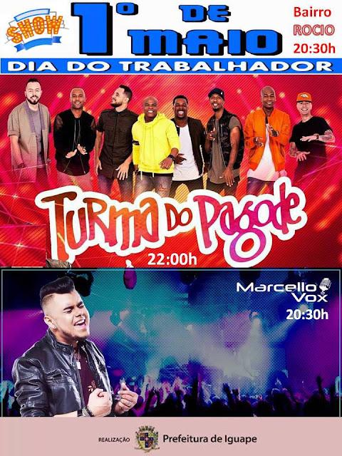 SHOW DIA DO TRABALHO EM IGUAPE