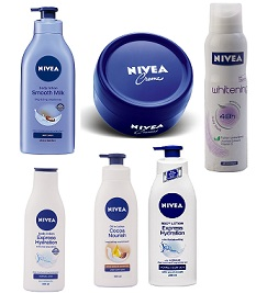 Nivea Skin Care Products - up to 25% Off