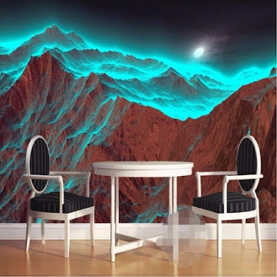 glowing in the darkness wall murals, wallpaper and stickers for home