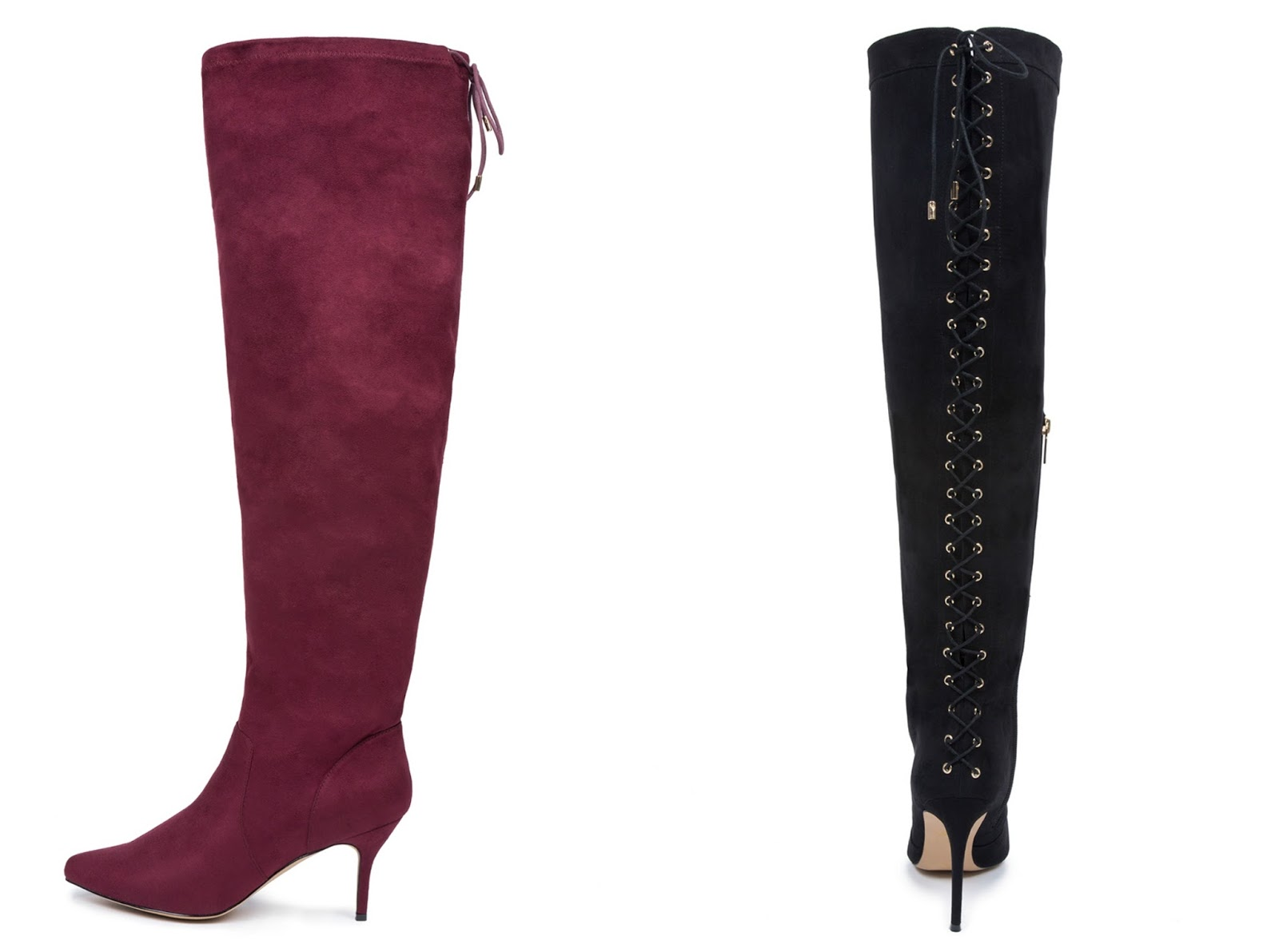 Hottest Over the Knee Boots for Wide Calves- A Thick Girl's Closet