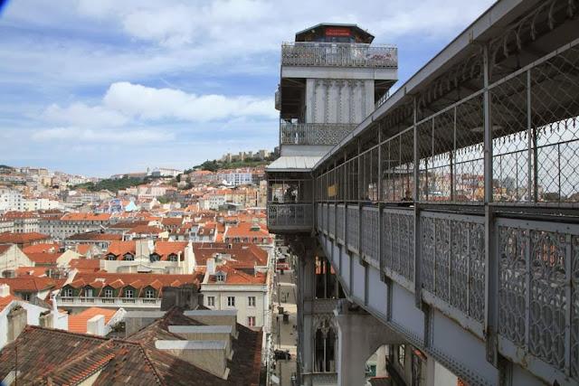 Elevador de Santa Justa em Lisboa | Portugal