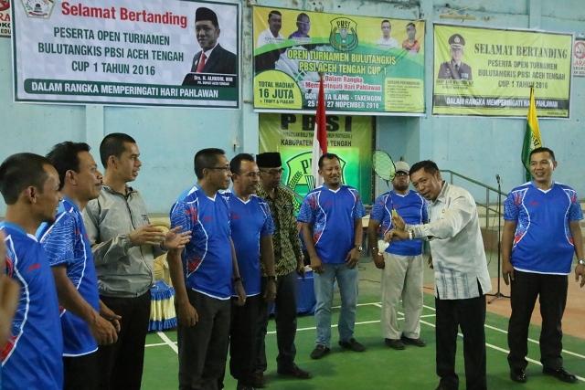 Gelar Turnamen Bulutangkis, PBSI Aceh Tengah Siapkan Total Hadiah Rp.16 Juta