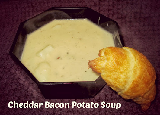 Cheddar Bacon Potato Soup