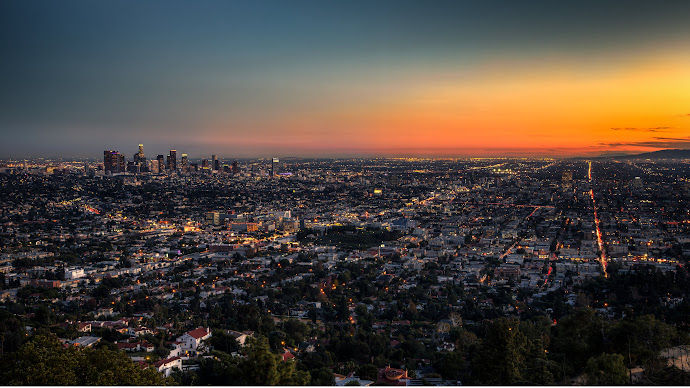 Wallpaper: Los Angeles at Dusk
