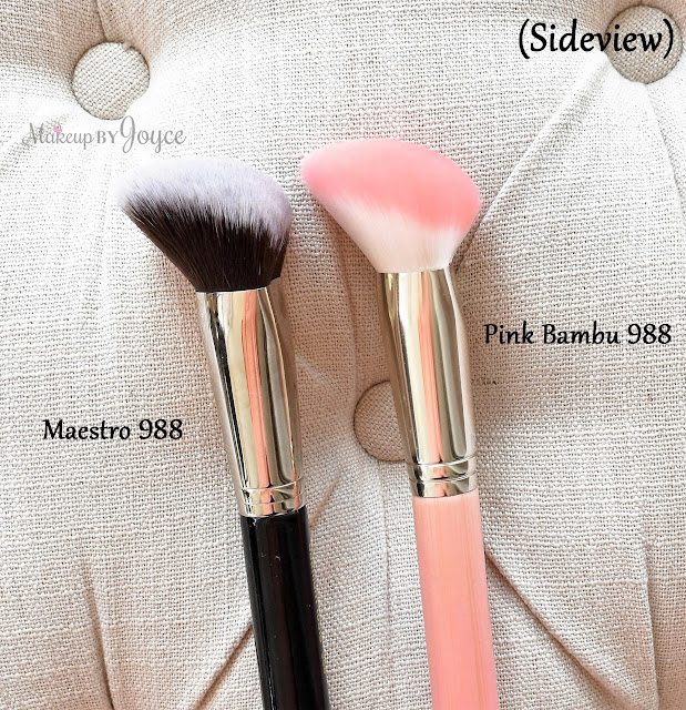 Bdellium Tools 988 Brush Review Pink Bambu vs Maestro