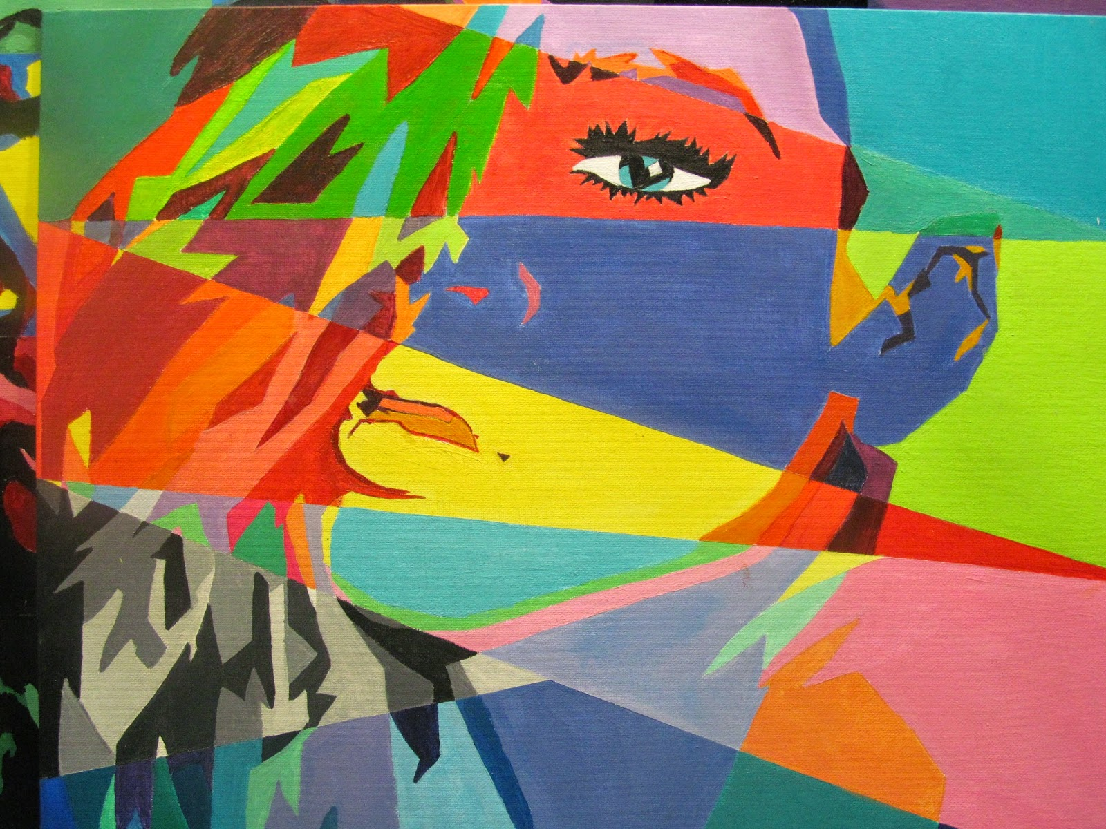 Colour Theory Portrait Painting