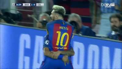 UEFA-Group-C-1 Barcelona 7 vs 0 Celtic 13-09-2016
