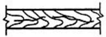 Трещина сварного соединения, ориентированная вдоль оси сварного шва