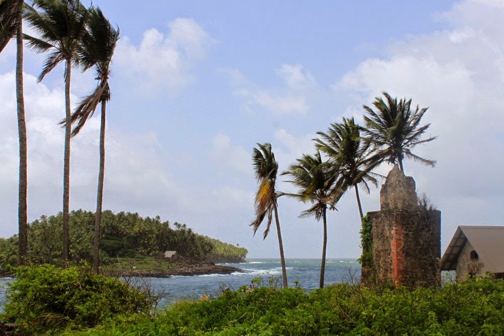 Writers Wanderings World Cruise Devils Island French Guiana