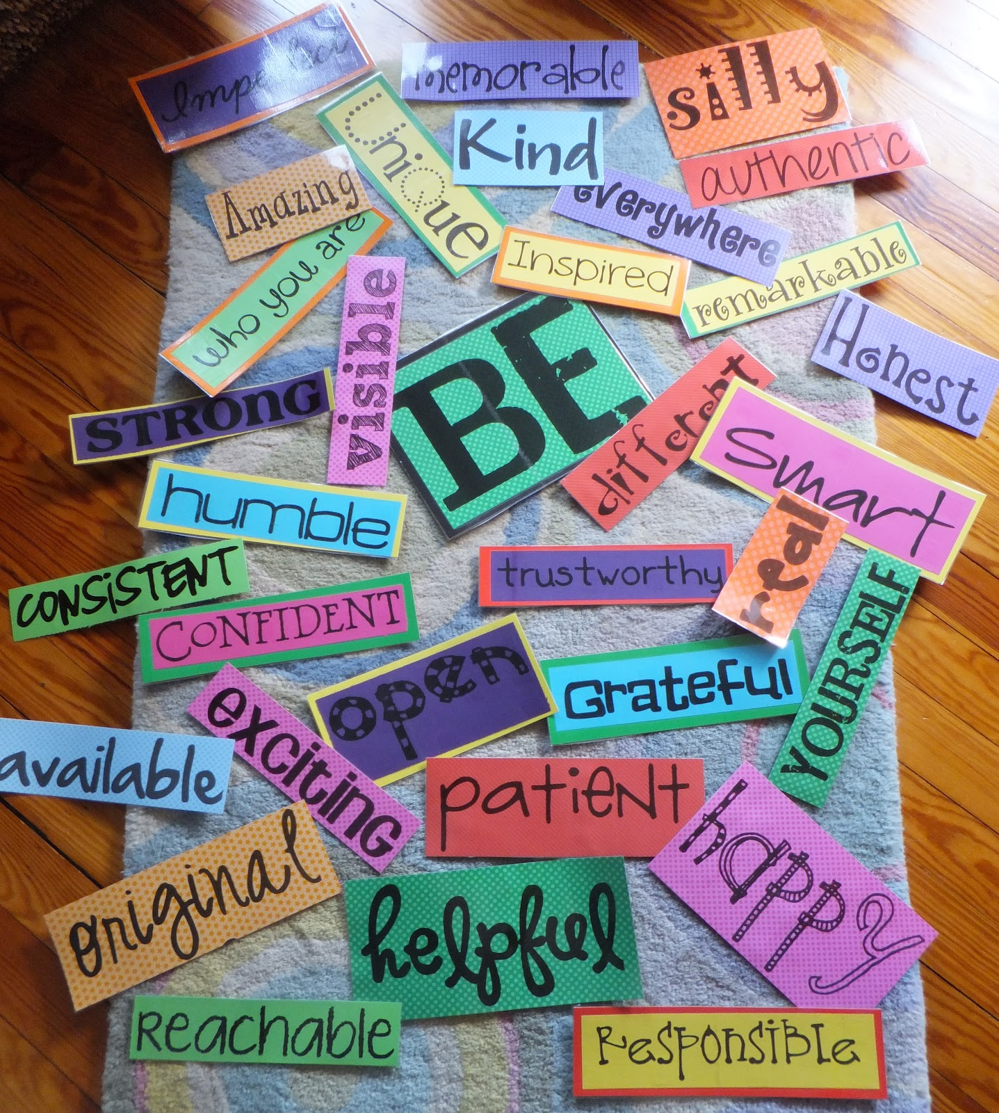 Entirely elementary school counseling beginning of the for Inspirational art project ideas
