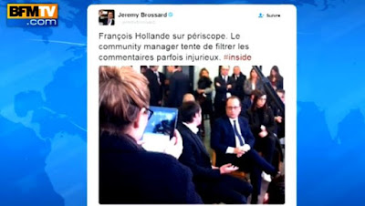 Hollande sur Periscope, le fiasco