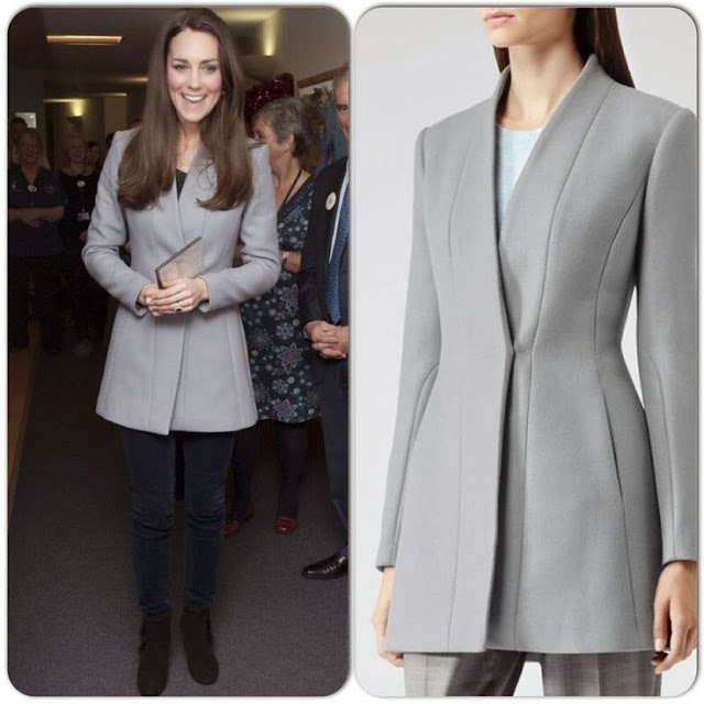 Catherine ,Duchess of Cambridge in Reiss