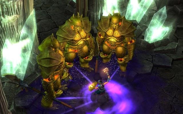 Titan Quest Immortal Throne PC Games Gameplay