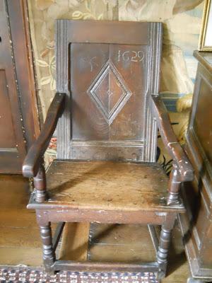 civil war chair