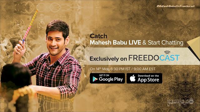 Mahesh Babu Live