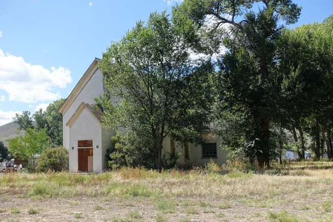 Abandoned Church in Junction UT